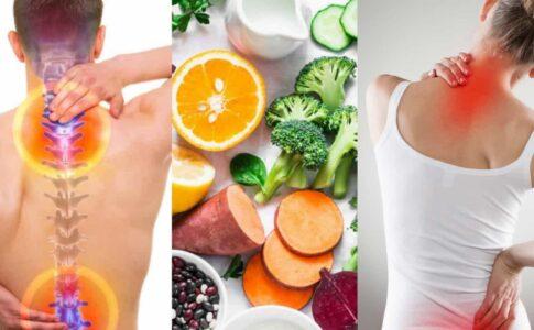 Alimente pentru coloana vertebrală