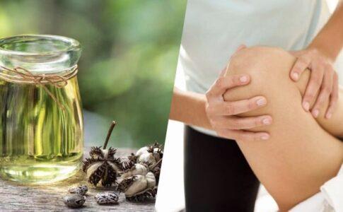 ulei de ricin pentru durere
